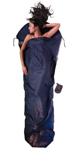 Cocoon MummyLiner makuupussi Silk Cotton , sininen